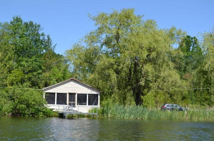 Winston's retreat, a peaceful Cabin - Monkton - Hytte