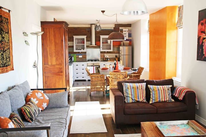 Luxury two bed town apartment pool - Monpazier - Appartement