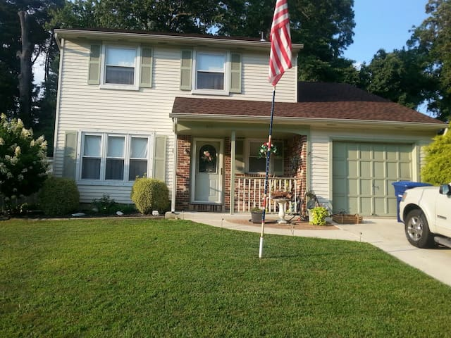 Lovely home clean smoke free - Westampton - Huis