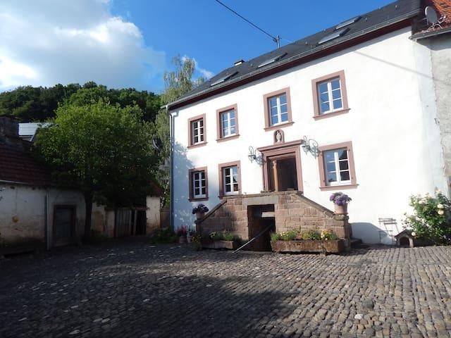 Relaxen in 300 Jahre altem Hofgut 1 - Basberg - Szoba reggelivel