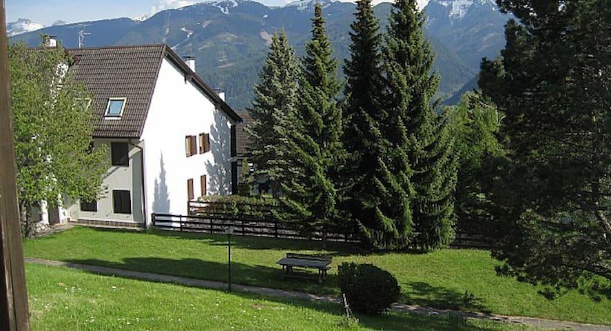 Trilocale in the heart of DOLOMITI - Dosso Veronza - Townhouse