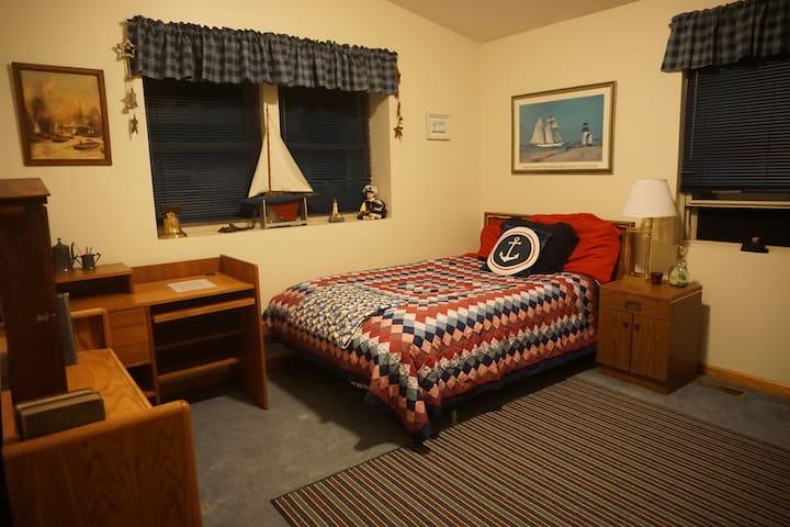 Great Lakes Room (Near E. Lansing) - Bath Township - Hus