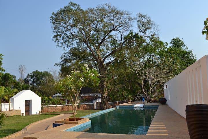 Casa Frangipani in Aldona Village - Aldona - 別墅