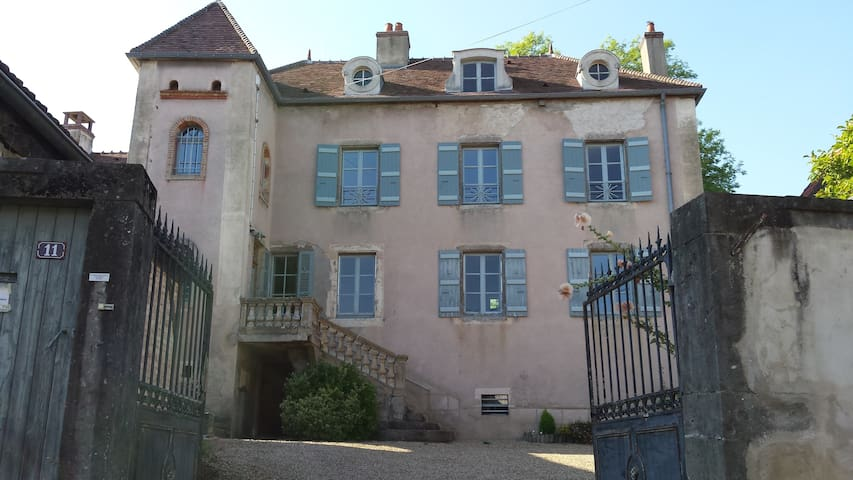 Demeure XVIIIe - Bourgogne du sud - Charrecey - Huis