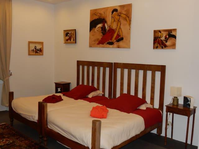 la chambre andalouse - edon - Villa