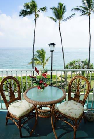 Hawaii Condo ON THE BEACH! Sleeps 4 - Punaluu