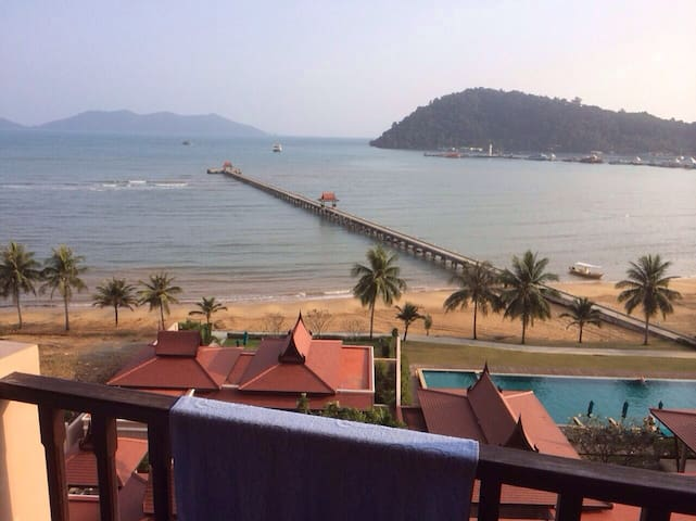 Tranquility With beach and pool :-) - Ko Chang - Departamento