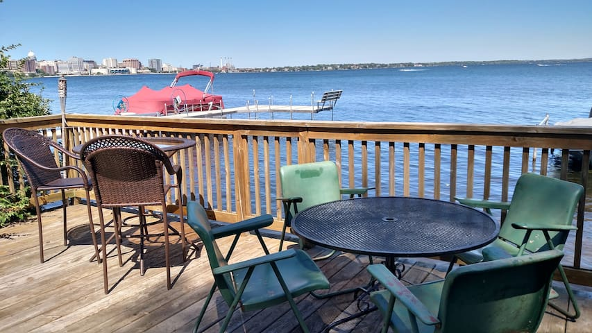 Lakeside location, beautiful views! - Madison - Appartement