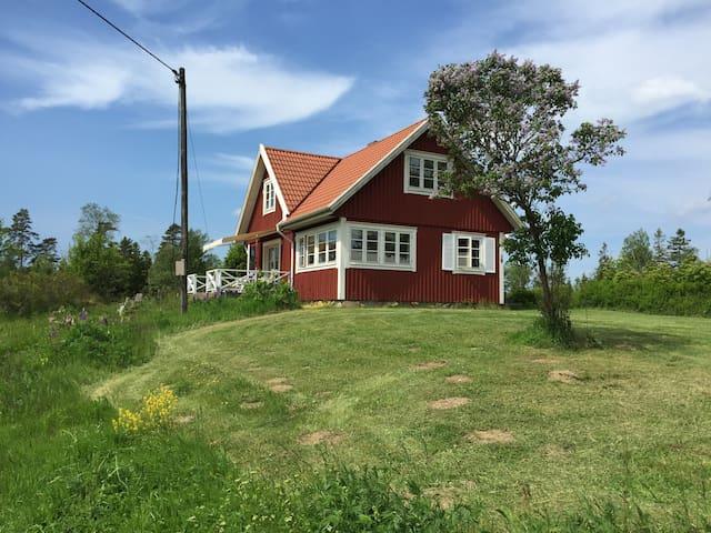 12år gl. villa  110 m2 - Strömsnäsbruk - 獨棟