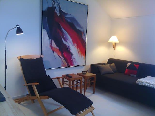 Rækkehus med lukket solrig terrasse - Svendborg - Appartement
