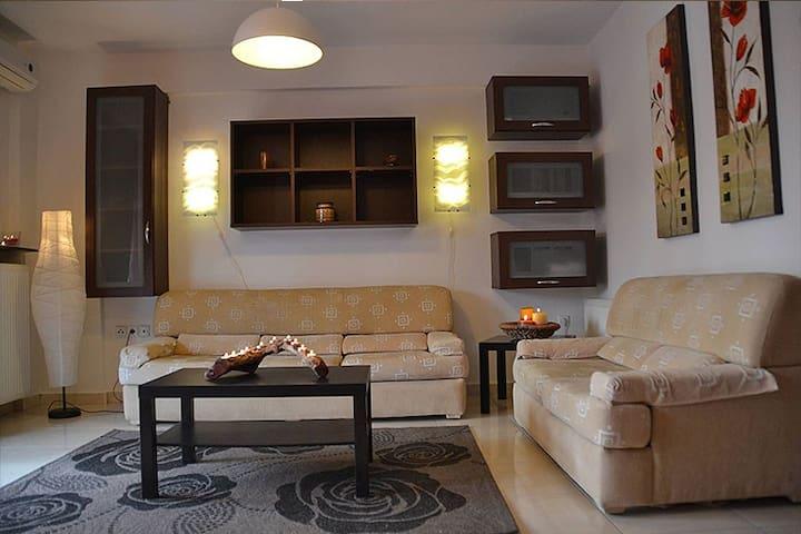 Fully equiped apartment Olympic Beach - KATERINI - Olimpiaki Akti - Daire