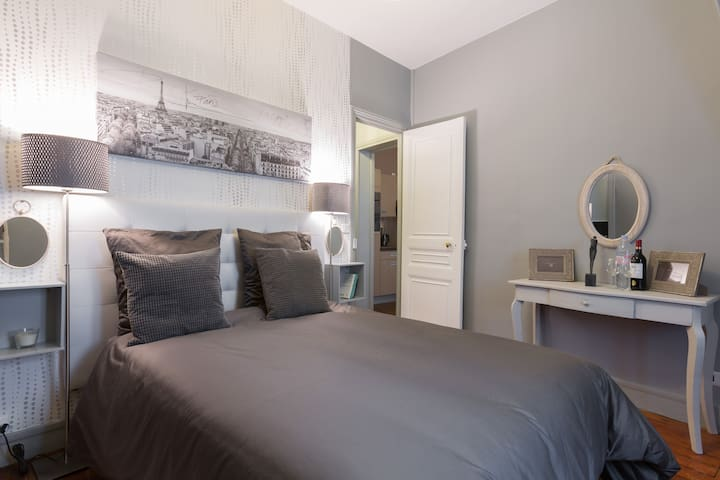Cozy apartment-Direct center Paris! - Asnières-sur-Seine - Departamento