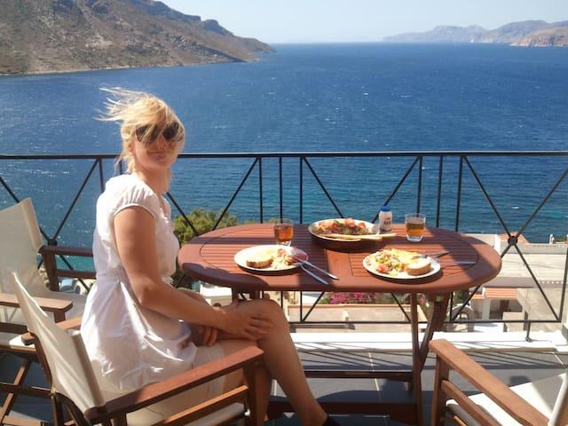 Kalymnos paradise with sea view - Kálimnos - Apartament