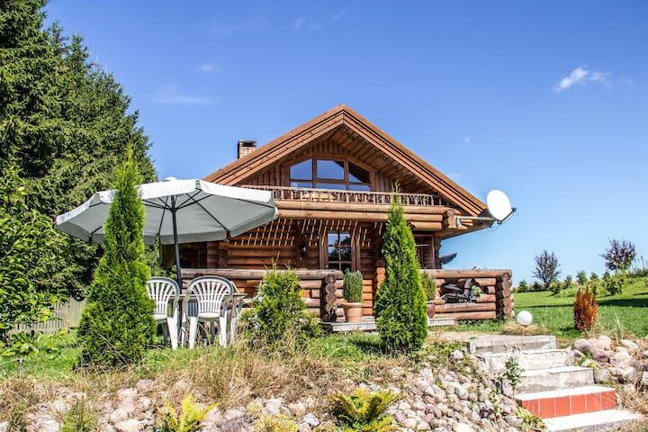 Cozy Russian style house. - Regstrup