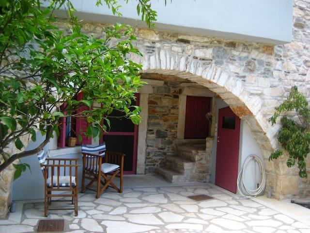 Zas Traditional Apartment for 3 - Danakos - Huis