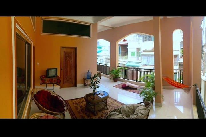 Lowest budget, Self-serve Fan Room BKK area _f4 #i - Phnom Penh - Departamento
