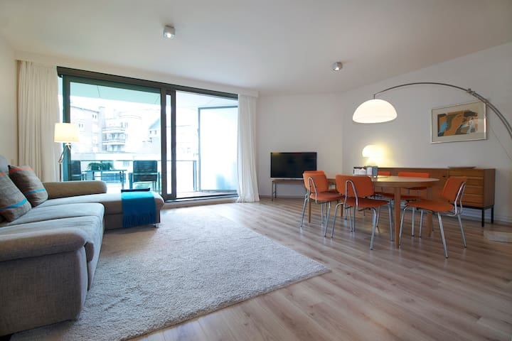 Stylish quiet apartment for up to 6 - Ghent - Departamento