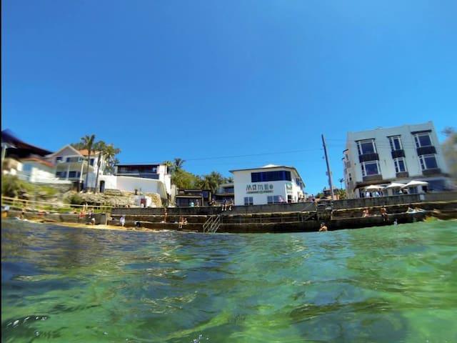 Apartment on water's edge - Manly - Leilighet