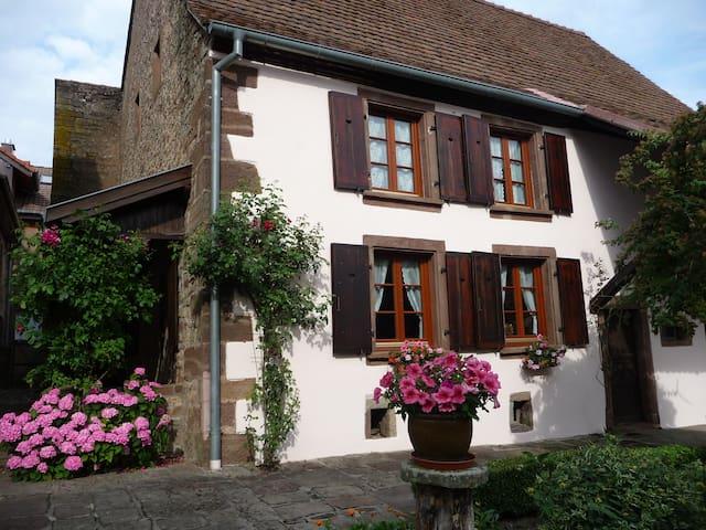 Cozy and comfortable farmhouse /Alsace - Schœnbourg - Huis