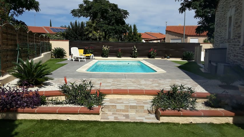 Beautiful villa south of France - Saleilles