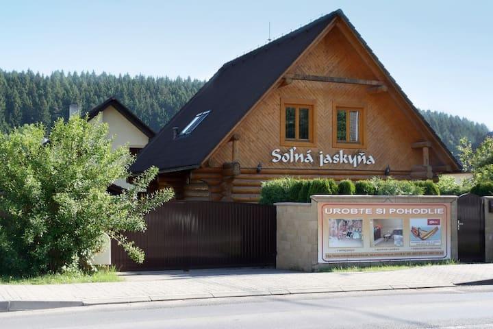 Accommodation in wooden log cabin - Žilina - 小木屋