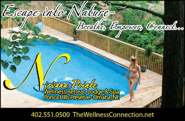 Nirvana Pointe Wellness Lodge & Spa - Omaha - Pousada