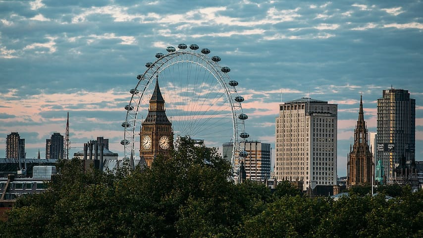 Stylish room /10 mins to Big Ben - London