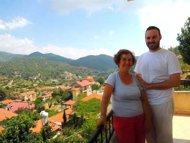 Ellie's Mountain House Experience Troodos - Troodos - Hus