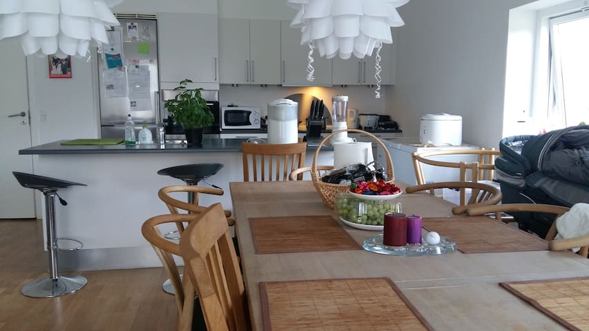 Nice room in new apartment - Brøndby Strand - Daire