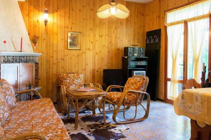 Grazioso appartamento con giardino - Lavarone - Maison