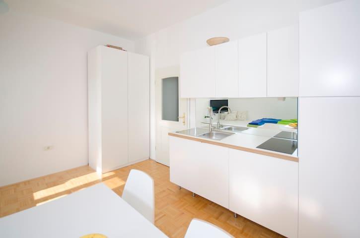 The cute, sunny apartment in the center +P - Ljubljana