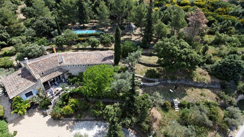Charm'In Provence Charming house with warmed pool - Saumane-de-Vaucluse - Casa