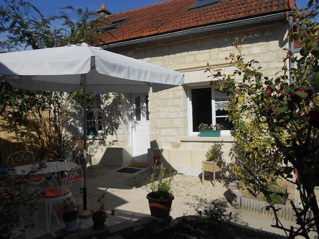 maison sympa proche commerces - Soissons - Huis