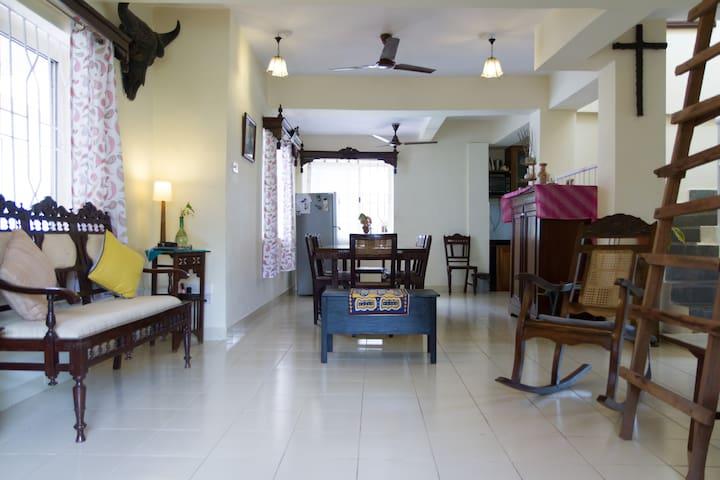 Modern villa with rustic charm - Nuvem - Villa