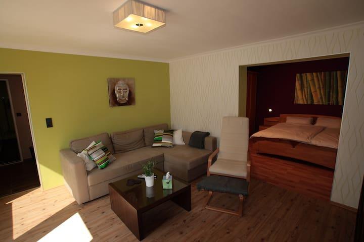 Moderne Komfort-Ferienwohnung WiFi - Bad Gandersheim - Apartamento