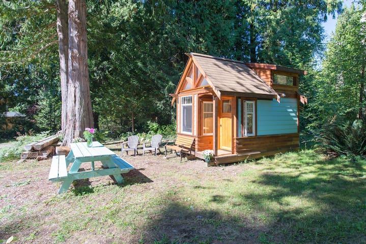 *The Micro Cabin in Roberts Creek* - Roberts Creek - Kulübe