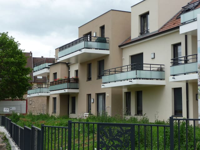 Pretty flat at 20 min from Strasbourg / wine route - Marlenheim - Appartement