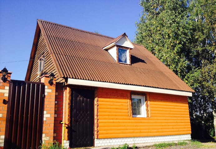 House 4 rooms+Barbeque - Долгое Ледово - Hus