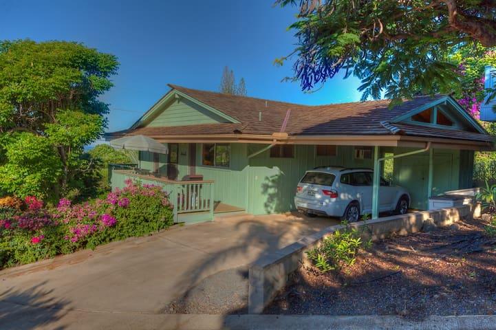 Maui Meadows Ocean View Cottage - Kihei - House