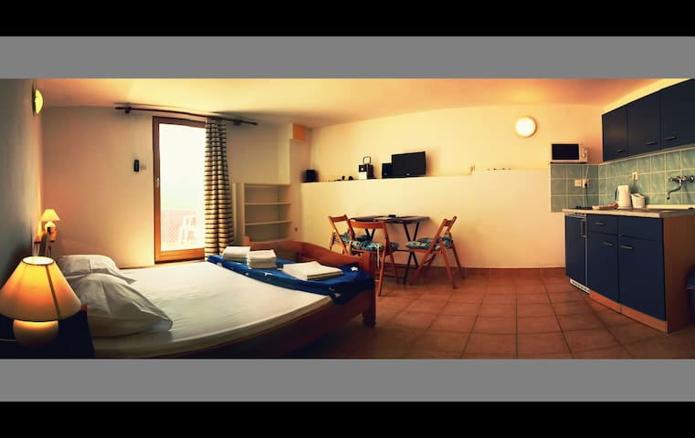 Cozy studio 10 meters from the sea! - Ždrelac - Apartemen