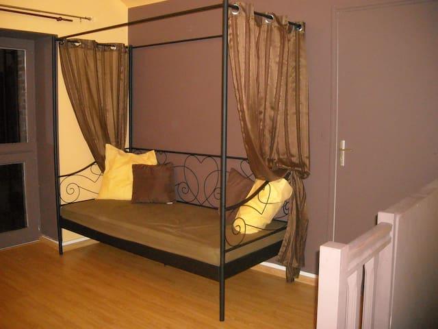 chambre confort en campagn - La Chapelle-Rainsouin - Apartmen