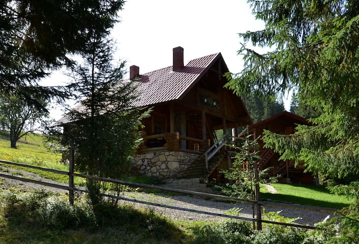 JAZZ XATA in the Carpathians - Yablunytsya - Huis