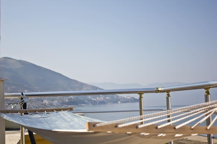 Stunning Sea View Duplex - Vlorë - Podkroví