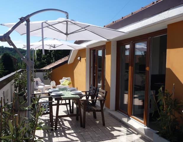 LA MANSARDINA   loft-one room flat - Imbersago - Appartement