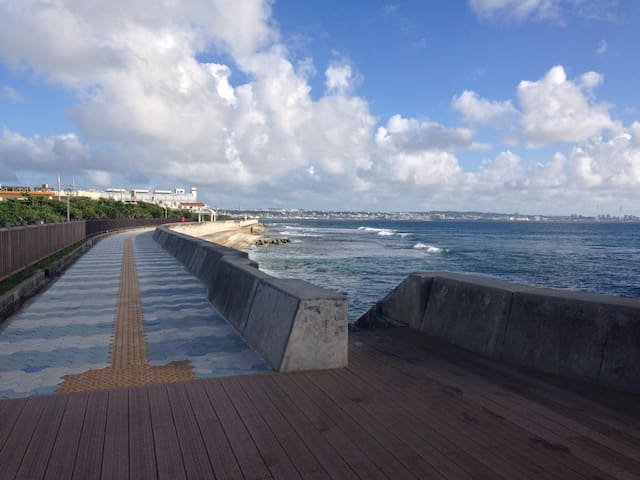 amazing local experience w/ crazy happy host roomB - Chatan-chō