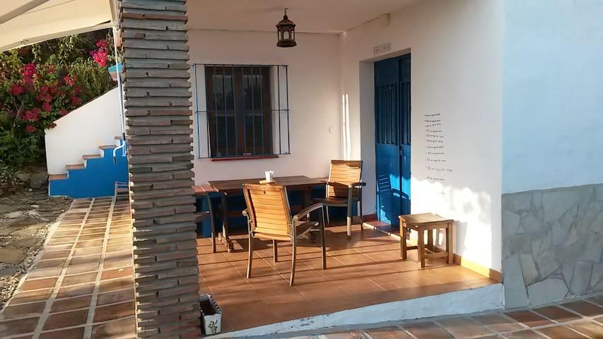 little cottage beautifull views - Málaga - Casa