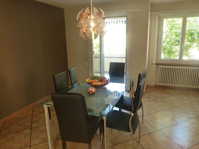 Grand appartement proche Neuchâtel - Noiraigue - Daire