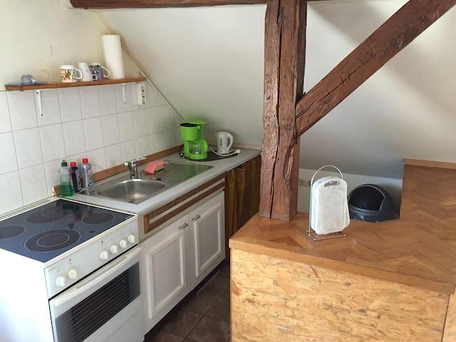 Schöne Ferienwohnung in Sternberg - Sternberg - Lägenhet