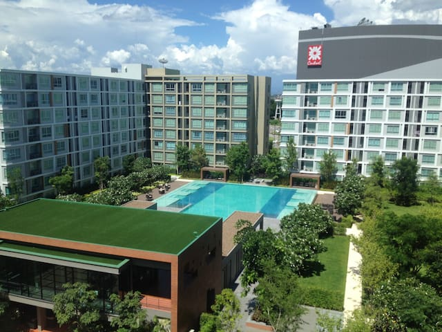 Peaceful and fully furnished 1-BR apartment - Chiang Mai - Huoneisto