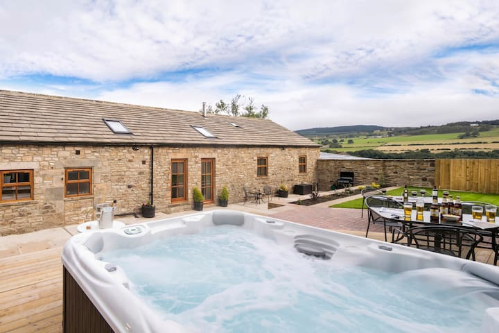 Converted Milking Barn with Hot Tub - Romaldkirk - Huis